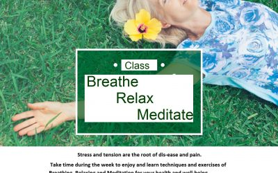 Breathe, Relax and Meditate