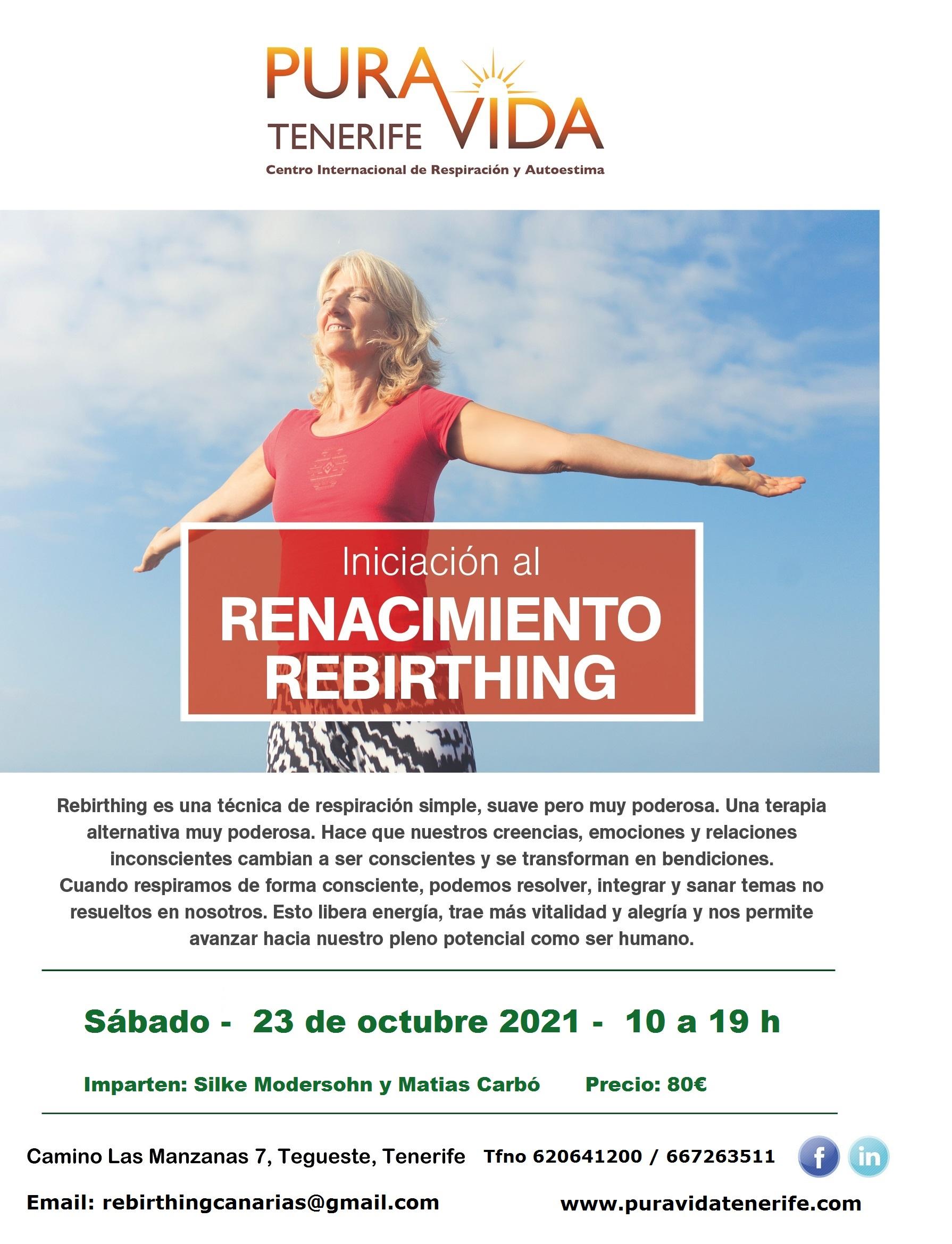 Iniciación al Renacimiento / Rebirthing
